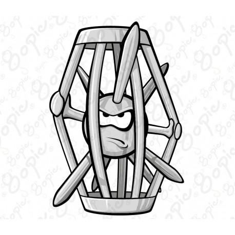 Ježek v kleci
